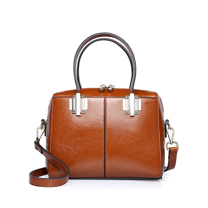 2017 Cow Split Leather Bags Handbags Women Boston Big Casual Women Shoulder Bag Ladies Large Retro Satchel Bag fashion matte retro women bags cow split leather bags women shoulder bag chain messenger bags