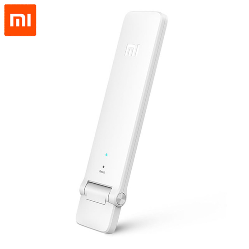 Xiaomi WIFI repetidor 2 amplificador extensor 2 Universal repetidor Wi-Fi extensor 300 Mbps 802.11n inalámbrico WIFI señal de extensión