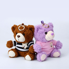 6000 mAh Power Bank for iphone 8 Plus 2A Output Fast Charger Fuzzy Cute Teddy Bear External Battery Pack for Mobile Phone Gifts