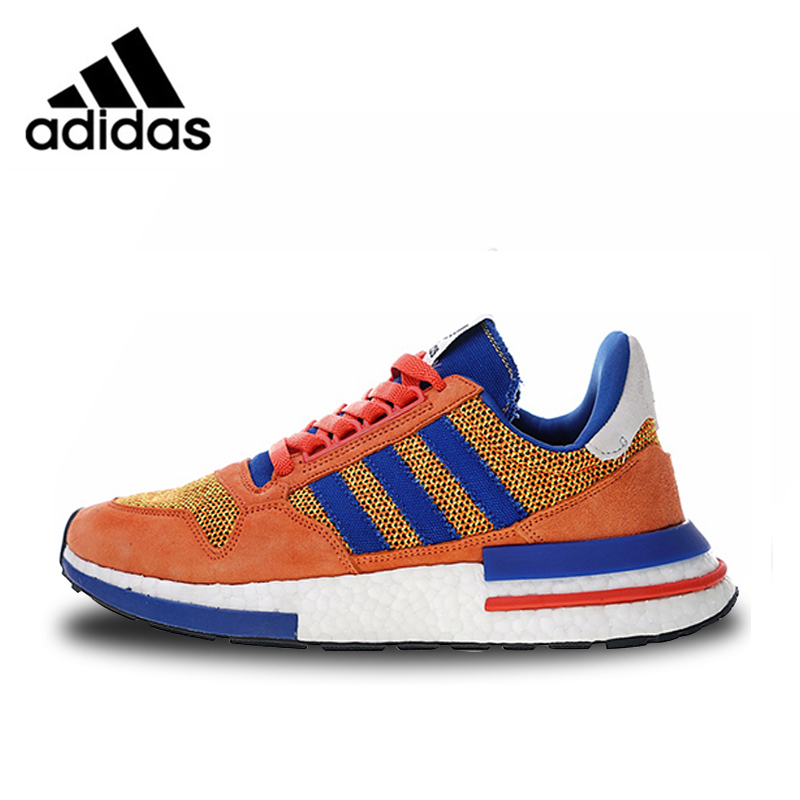 uk availability 4f643 2f827 Adidas ZX500 RM Boost Retro Running Shoes Orange Blue For Man And Women  Unisex D97046 36-45 EUR Size U