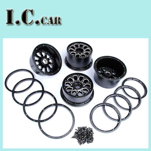 Metal baja wheel nub set for 1 5 HPI Baja 5B Parts Rovan KM