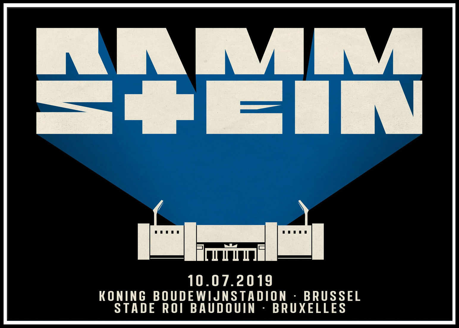 Rammstein poster White paper Posters bar room decoration painting Wall Sticker 2002