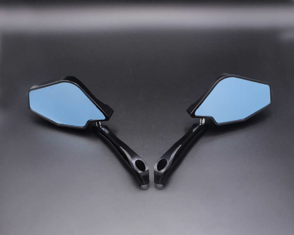 Motorcycle rearview mirror CNC aluminum cutting case for DUCATI Monster 821 STRIPE / Monster 1200R / Hypermotard 939 motorbike mirrors motorcycle accessories side mirror cnc aluminum mirror rearview for benelli 600 bn600 bn300 bmw k1300 k120