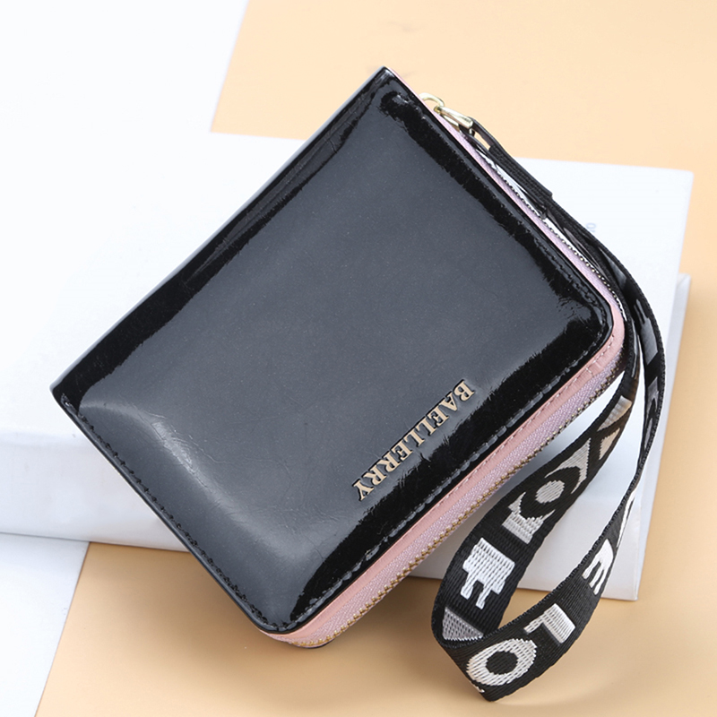 Women Wallets High Quality Fashion Short Design Women Purse Card Holder Female Wallet(China)