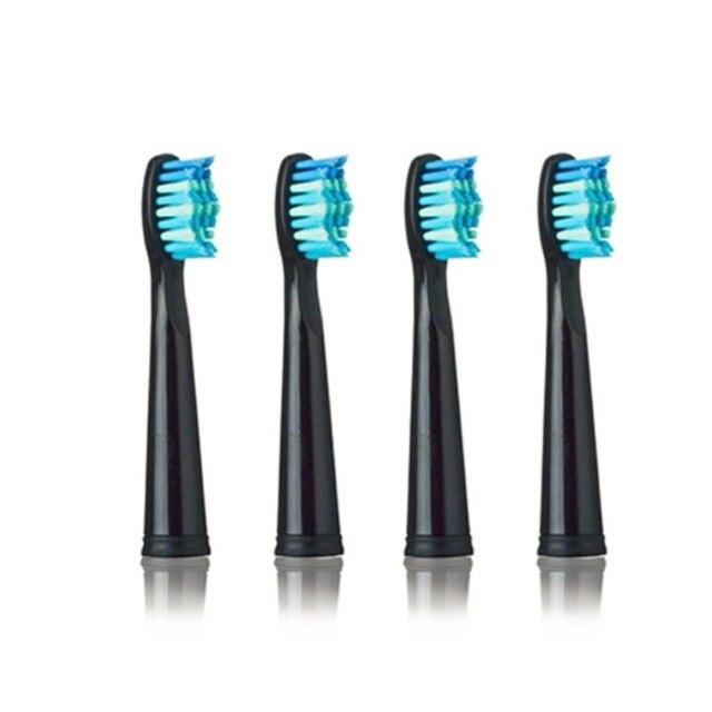 Cabezales de cepillo de repuesto para SEAGO 949/507/610/659 cepillo de dientes eléctrico ajuste avance potencia antibacteriana automático suave cerdas de caliente