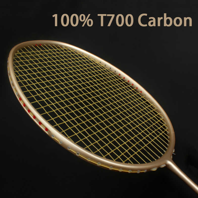 4U Ultralight Original Carbon Badminton Rackets With Strings Sports Professinal Racquet Trainnig Racket Z Speed Raqueta