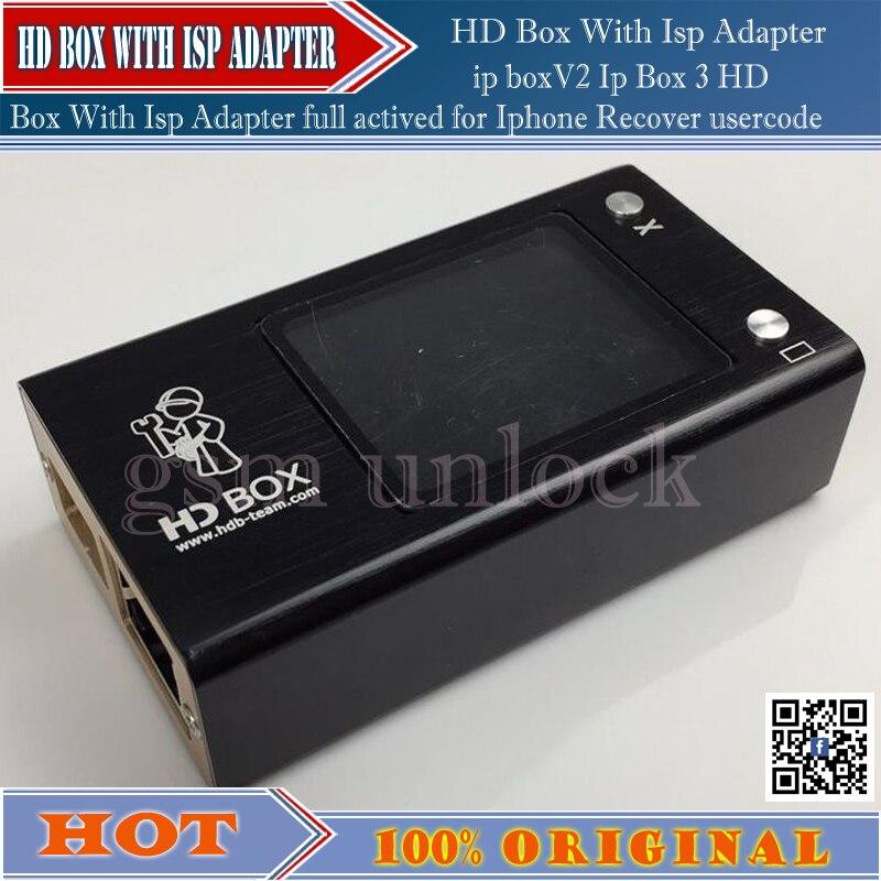 Gsmjustoncct HD Box avec fai entièrement activé (pour Android, pour Iphone EFI et Mac iCloud)