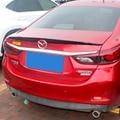 Для Mazda 6 Atenza 2014 2015 2016 2017 2018 2019 ABS праймер внешний задний спойлер задний багажник загрузки крыло украшение автомобиля Стайлинг