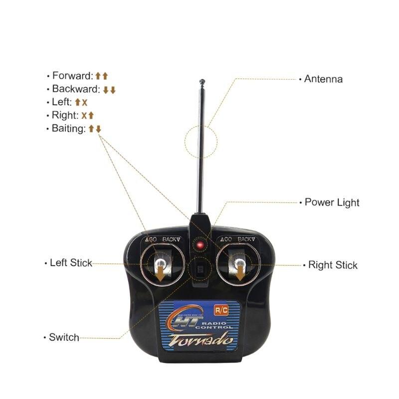 Flytec 2011-3 RC bateau Intelligent sans fil électrique appâts de pêche télécommande poisson bateau projecteur jouets