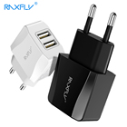 RAXFLY Phone Charger For iPhone iPad Samsung USB Charger For Xiaomi Huawei Dual Ports Travel Wall Chargers Fast Charging Adapter