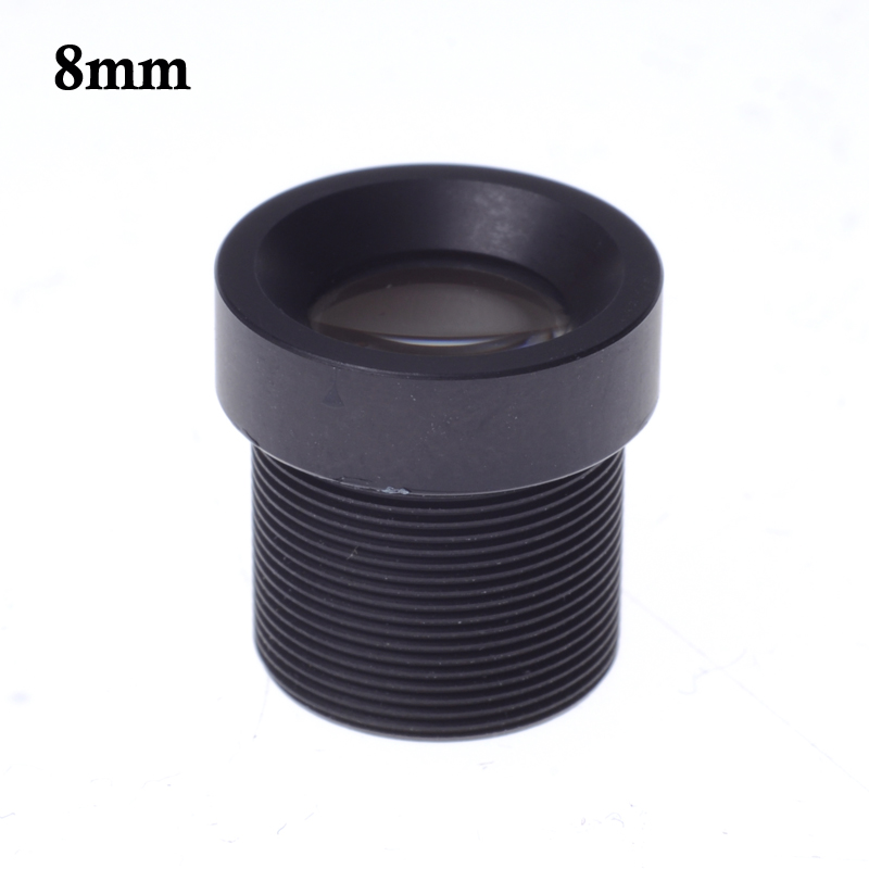 Wholesale CCTV lens 8mm M12*0.5 IR board Lens 40 degree for CCTV Security 1/3 and 1/4 CCD Camera mool 1 3 cctv 2 8mm lens black for ccd security box camera