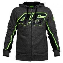 2017 Новый мужская Одежда Вален MotoGP Росси VR46 Толстовки Кофты Толстовки Мотоцикл Случайные Зимних Видов Спорта Куртки