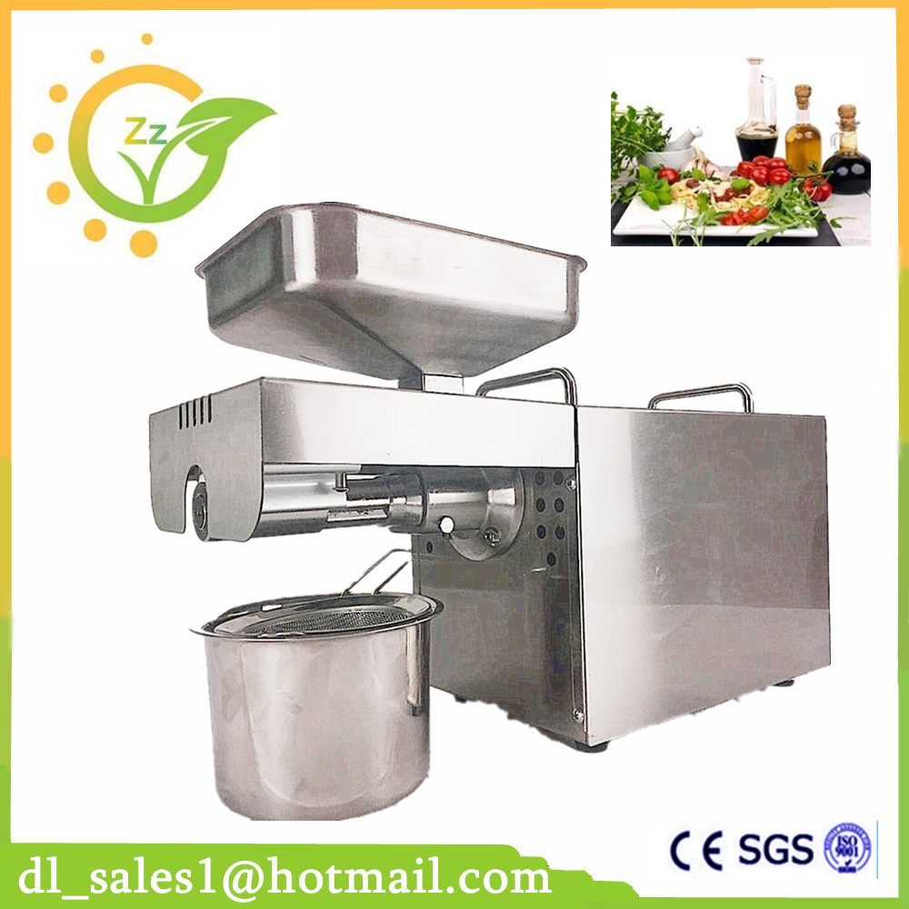 где купить Commercial Grade 304 Stainless Steel Oil Press Machine Nut Seed Automatic Stainless All Steel Presser High Oil Extraction дешево