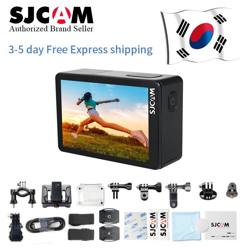 Дешево! SJCAM SJ8 Pro/SJ8 Plus/Air 4K Экстремальные виды спорта камера Водонепроницаемый Анти встряхивание двойной сенсорный экран WiFi Пульт дистанционного управления экшн DV - 3