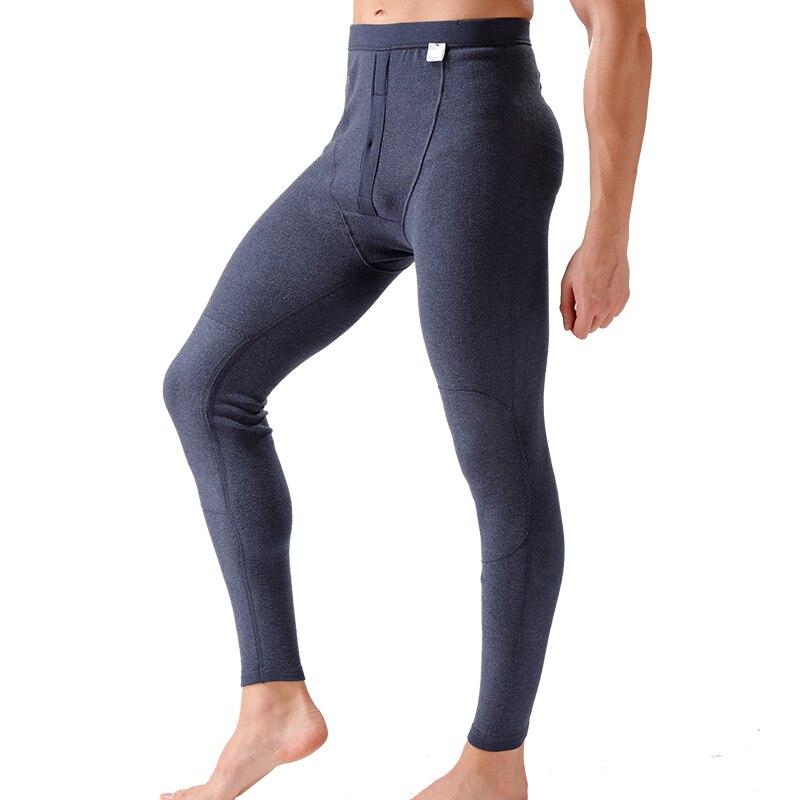 d57e0c5fa2fe 2016 New Winter Men Thermal Underwear Leggings Tight Men's Cotton Pants  Long Johns Mens Polyester Thermal Underwear set-in Long Johns from Men's  Clothing & ...