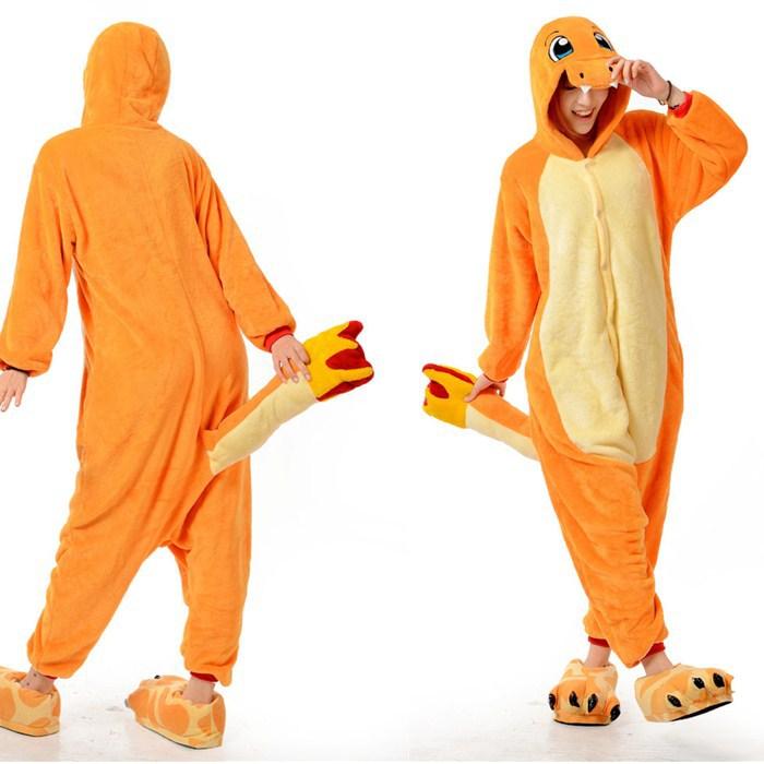 f7232b245250 Funny Animal Pajamas Onesies For Adult Fire Dragon Onesies For Men And  Women One Piece Onesie Pajamas Animal Costume