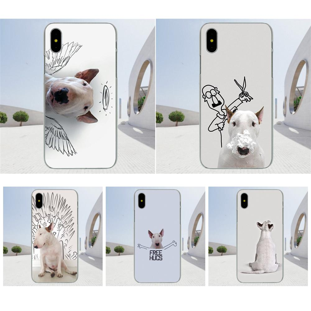 Soft Art Online Cover Case Jimmy Choo Bull Terrier For Apple iPhone 4 4S 5  5C 5S SE 6 6S 7 8 Plus X XS Max XR-in Half-wrapped Case from Cellphones ... 1483ebc5322c