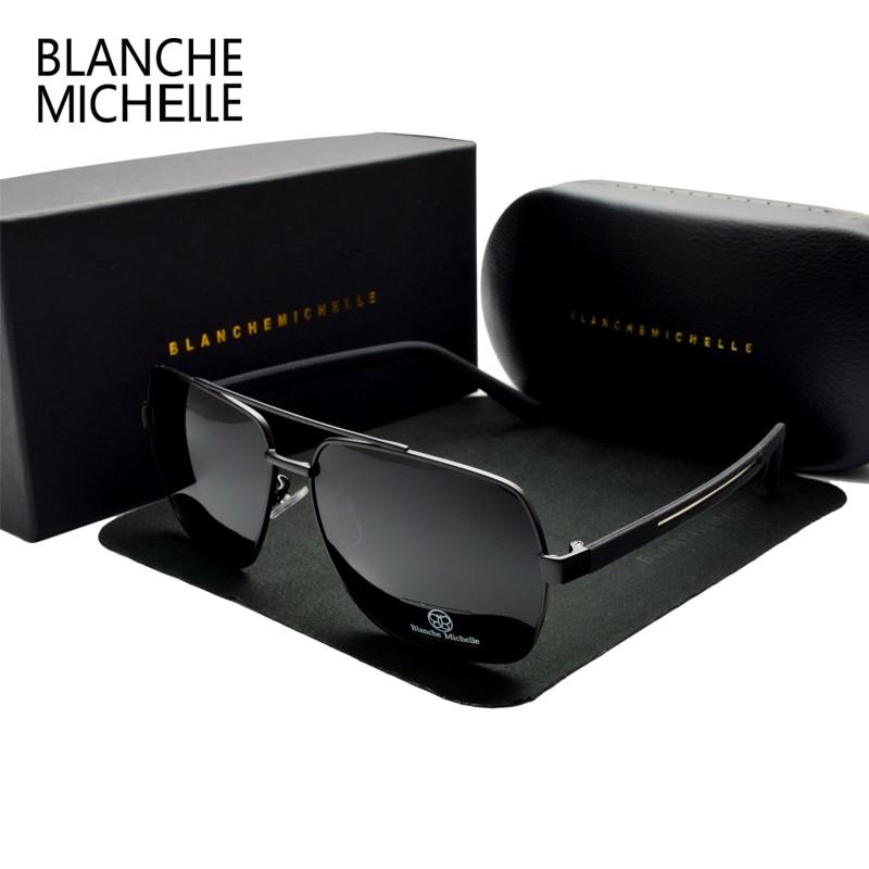 Gafas de sol cuadradas de alta calidad de los hombres polarizados - Accesorios para la ropa - foto 5