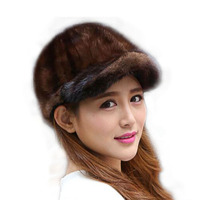 Mink Fur Hat Women S Hair Mink Fur Hat Benn Mink Hat Mink Knight Cap