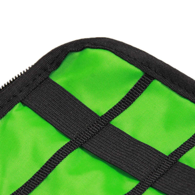 Image 5 - New Universal Electronic Organizers Travel Storage Bag for Cord USB Cables Flash Drive Earphone Power Bank-in Storage Bags from Home & Garden