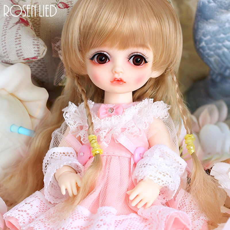 все цены на Rosenlied RL Monday Bambi bjd sd doll 1/8 body model boys or girls bjd doll High Quality resin toys free eye beads shop