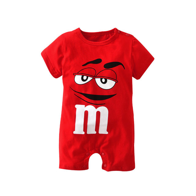 Online Shop 2018 New Fashion Baby Romper Unisex Cotton Short Sleeve