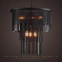Edison Loft Style Bicycle Chain Droplight Industrial Vintage Pendant Lamp For Dining Room Bar Hanging Light Home Lighting