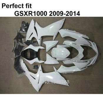 White Hot sale fairings for Suzuki injection mold GSXR1000 2009-2014 fairing kit GSXR1000 09 10 11 12 13 14 BT09