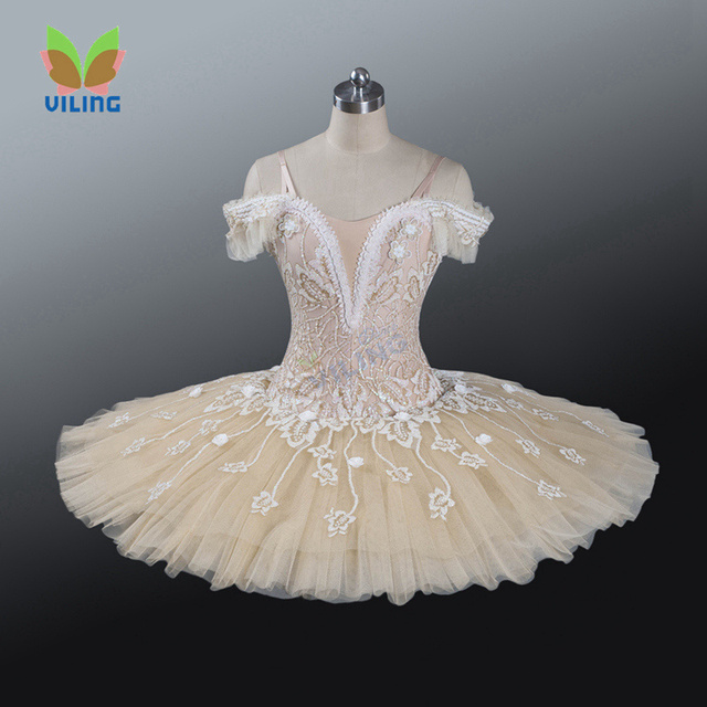 Aliexpress Com Buy Apricot Ballet Tutu Dress Girl