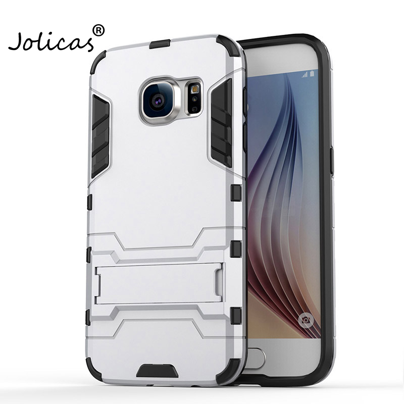 Hybrid Hard Back Cover For Samsung Galaxy S7 Edge Case Anti Knock Protective Fundas For Samsung S7 S7Edge Phone Cover samsg