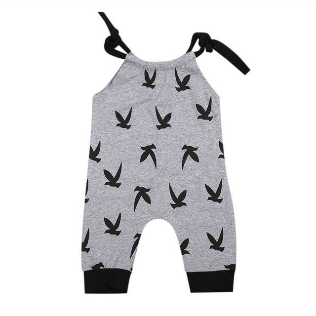 Newborn Baby Clothes Cotton Baby Rompers 2017 Casual