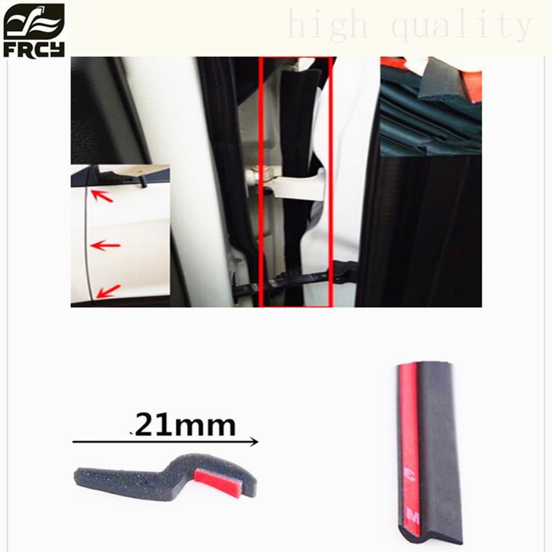 Car sticker door noise seal sealing strip For Toyota/BMW/Seat/Fiat/mazda/LADA/Hyundai/citroen/Opel/saab/AUDI/lada car-styling