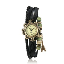 Global Hot Woman Bracelet Watch Fashionable Quartz Watch Iron Tower Pendant Wristwatches Birthday Gift Relogio Feminino