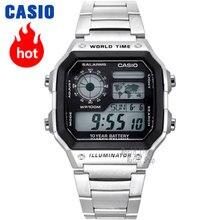 7a3f4bb35f18 Reloj Casio analógicas de los hombres de cuarzo reloj deportivo combina  moda clásica y relojes AE