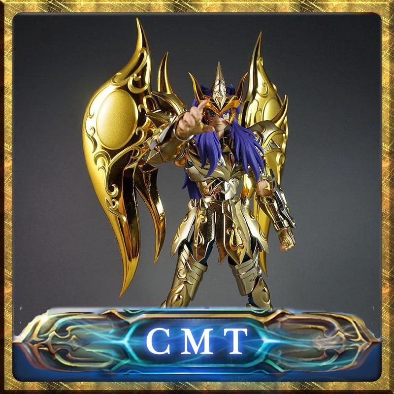 CMT великолепные игрушки GT Ex Скорпион мило душа золота Бог Saint Seiya металла панцири Миф Ткань Золото Действие фигура аниме