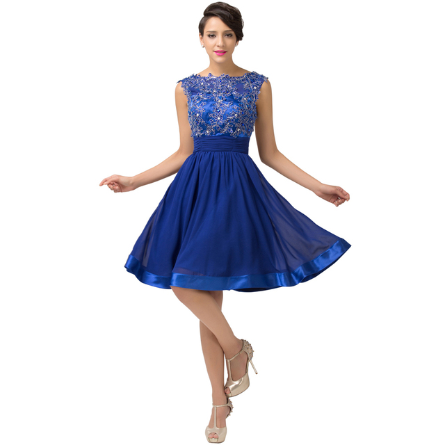 Blue cocktail dresses for weddings