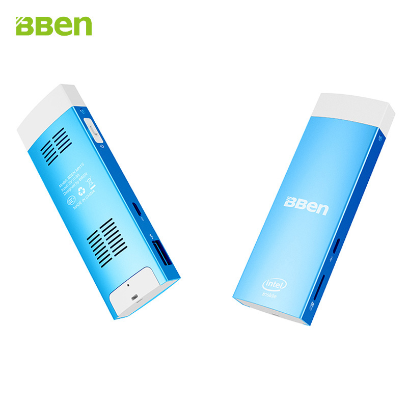 Bben MN1S mini pc with quad core intel z8350 cpu built in cooling Fan 2GB 32GB