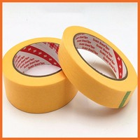 3M Scotch New Cut High Temperature Resistant Masking Paper Tape Yellow Coating, PCB SMD Shield 35mmx164ft 3M244