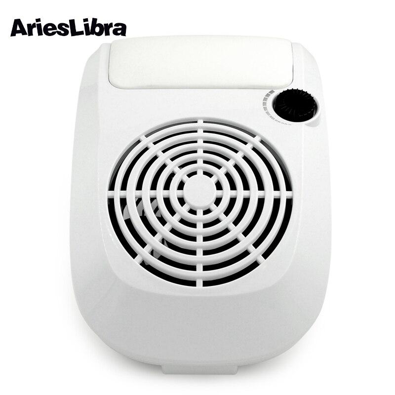 AriesLibra 40 W collecteur de poussière d'ongle Machine d'aspiration de poussière d'ongle équipement d'art d'ongle outils de manucure pour des forets d'ongles