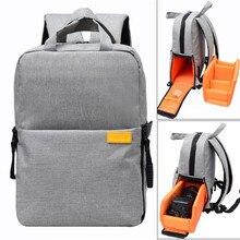 Sac Photo DSLR numérique sac à dos Photo pour Nikon Canon Pentax Sony avec housse de pluie étanche antichoc sac à dos appareil Photo de voyage