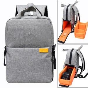 Image 1 - Sac Photo DSLR numérique sac à dos Photo pour Nikon Canon Pentax Sony avec housse de pluie étanche antichoc sac à dos appareil Photo de voyage