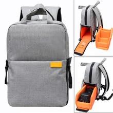 Torba na aparat cyfrowy DSLR plecak na aparat fotograficzny Nikon Canon Pentax Sony z pokrowcem przeciwdeszczowym wodoodporny, odporny na wstrząsy plecak na aparat podróżny