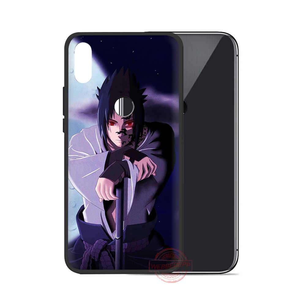 Webbedepp Anime Naruto Uchiha Sasuke Mềm Dành Cho Samsung A3 5 6 7 8 9 J6 A10 A20 A30 A40 a50 A60 A70 S M10 M20 M30 M40