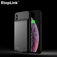EtopLink for iphone XS Battery Case Rechargeable Charger 4000mah External Backup for iphone XS MAX XR 5000mah for iphone XS