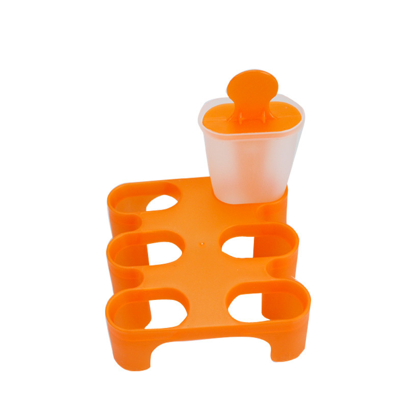 Lolly Mould Tray Pan Kitchen Randomly color 6 Cell Frozen Ice Cube Molds Popsicle Maker DIY Ice Cream Tools Color Random in Ice Cream Makers from Home Garden