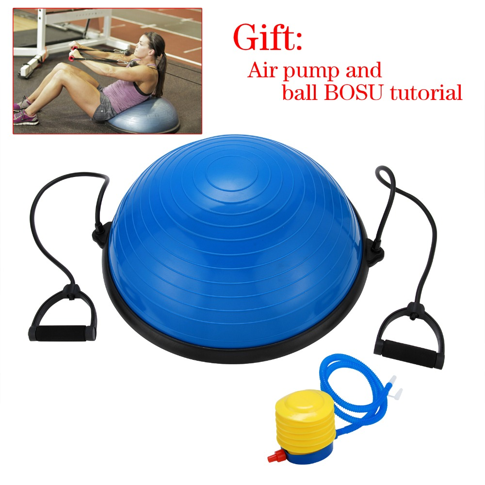 Fitness BOSU ball yoga ball hemisphere balance ball wave speed ball
