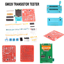 GM328 Signal Generator DIY Transistor Tester Automatically Practical Volt Freq Meter Spare Parts стоимость