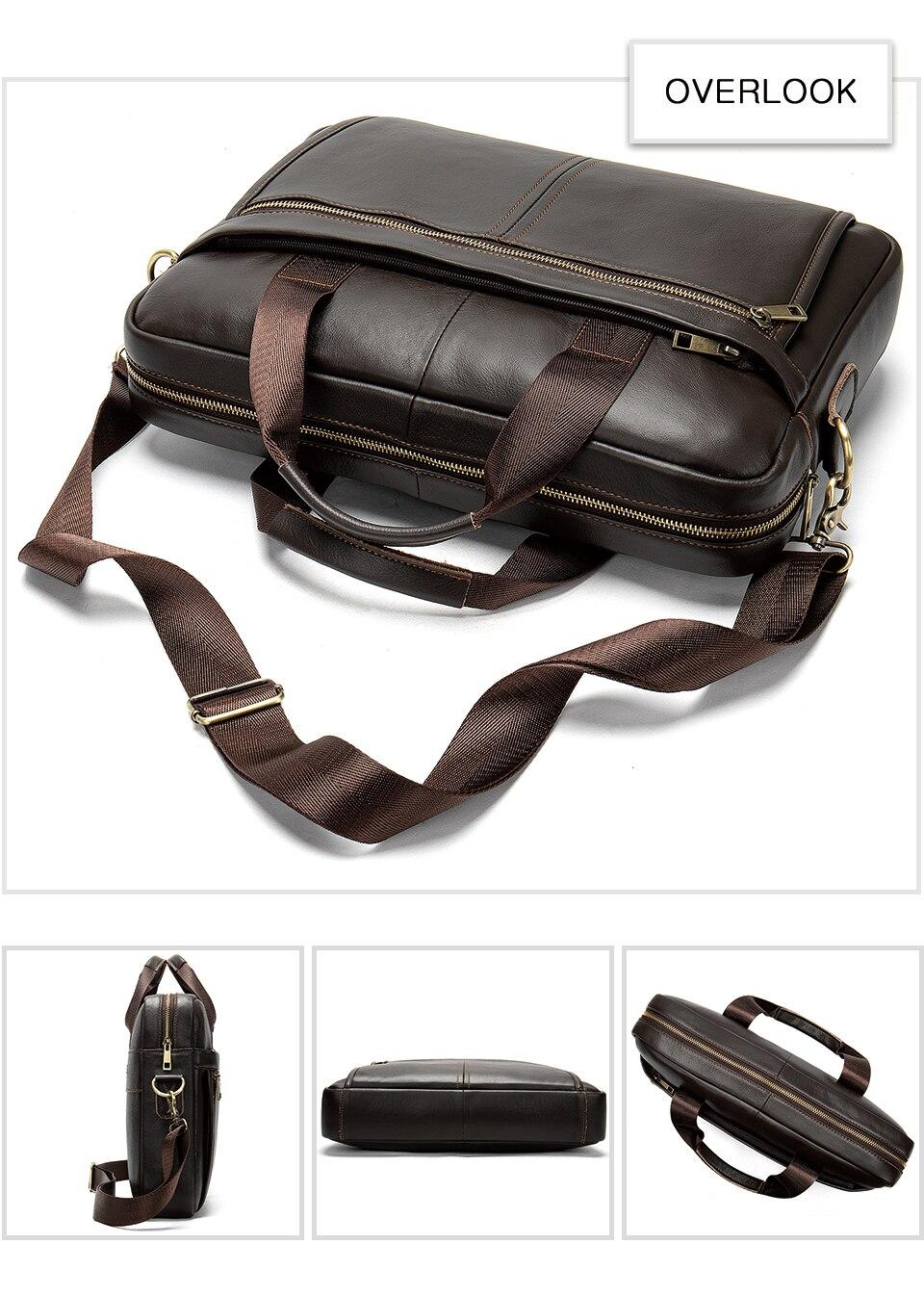 HTB146.wUgHqK1RjSZJnq6zNLpXal MVA men's briefcase/genuine Leather messenger bag men leather/business laptop office bags for men briefcases men's bags 8572