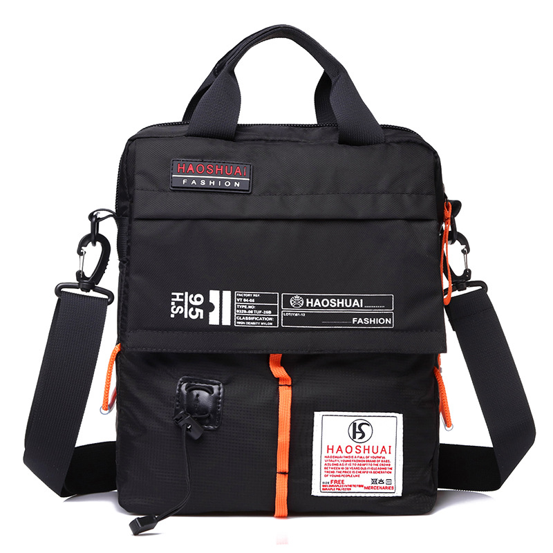 Military High Quality Cross Body Top Handle Bag Casual Flap Men's Nylon Single Shoulder Messenger Tote Fashion Handbag