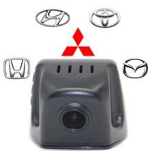 Grados de amplio ángulo de visión nocturna oculta hd1080p coche dvr170 android/ios app wifi incorporado cam sony 322 chip de sensibilización